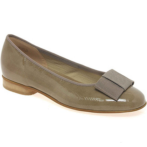 Gabor - Taupe +Assist+ Ballerina Shoes