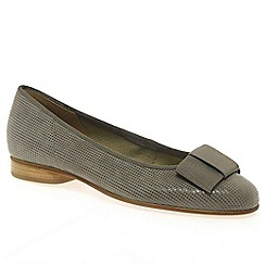 Gabor - Grey 'Assist' ballerina shoes