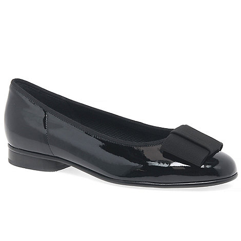 Gabor - Black Patent Assist Ballerina Shoes