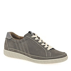 Gabor - Grey 'amulet' wide fit ladies sneaker