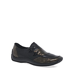 Rieker - Near black 'cassie' womens casual shoes