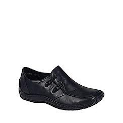 Rieker - Black 'Cassie' womens casual shoes