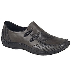 Rieker - Dark grey 'Cassie' Womens Casual Shoes
