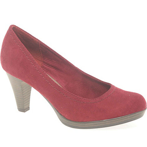 Marco Tozzi - Red +Connection+ Womens Court Shoes