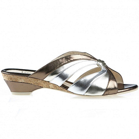 Van Dal - Metallic +lamuru+ ladies slip on sandals