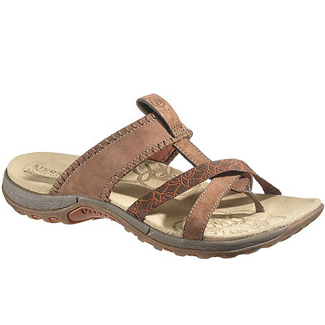 Merrell - Brown Plumera Women+s Open Toe Mules