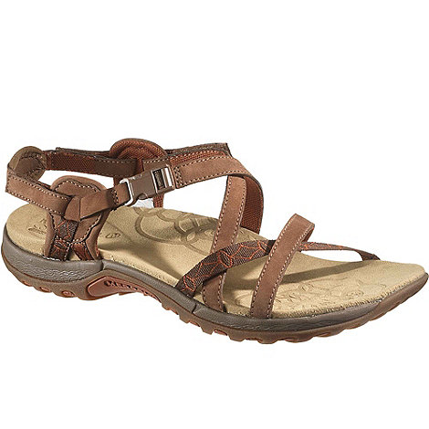 Merrell - Brown Jacardia Women+s Casual Sandals