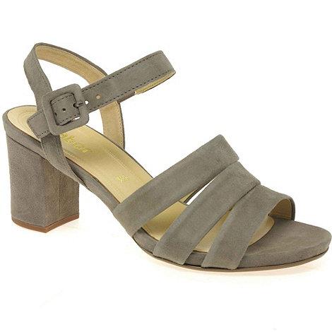 Gabor - Beige +Arden+ womens buckle fastening sandals