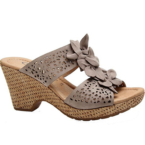 Gabor - Pickwick+ womens wedge heeled sandals
