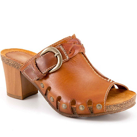 Pikolinos - Brown prague womens slip on mules