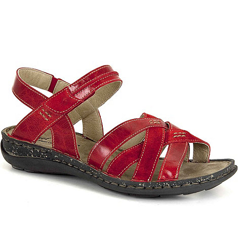 Josef Seibel - Red Federica Womens Casual Sandals