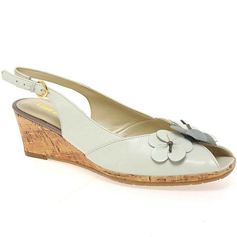 Van Dal - White +miranda+ womens slingback shoes