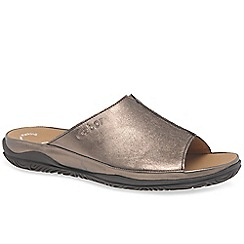 Gabor - Metallic Idol Ii Wide Fit Mules