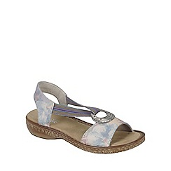 Rieker - Blue 'Splash' Womens Open Toe Sandals