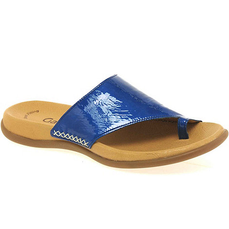 Gabor - Bright blue +lanzarote+ fashion mules