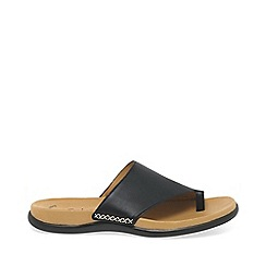 Gabor - Black lanzarote fashion mules