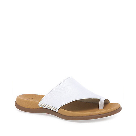 Gabor - White Lanzarote Fashion Mules