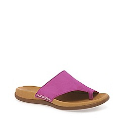 Gabor - Pink 'Lanzarote' fashion mules