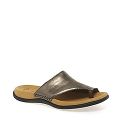 Gabor - Metallic Lanzarote Fashion Mules