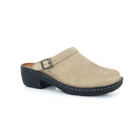 Josef Seibel - Beige Betsy Leather Mules