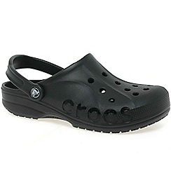 Crocs - Black 'baya' ladies mule