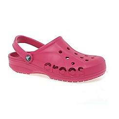 Crocs - Dark pink 'baya' ladies mule