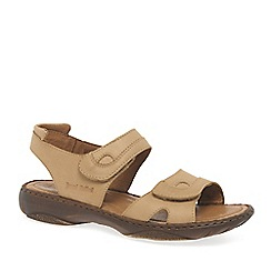 Josef Seibel - Natural 'Debra' velcro sandals