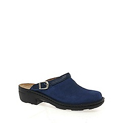 Josef Seibel - Blue 'betsy' leather mules