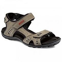 Ecco - Beige Rough Walking Sandals