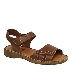 Josef Seibel - Tan 'Lisa' womens sandals