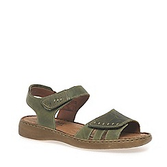Josef Seibel - Olive 'Lisa' rip tape womens sandals