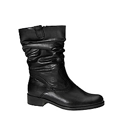 Gabor - Black Trafalgar Black Lea basic boot