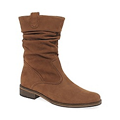 Gabor - Tan 'Trafalgar' leather basic boots