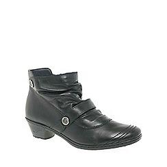 Rieker - Black 'Lynn' ankle boots