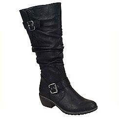 Rieker - Black 'Bernadette' long boots