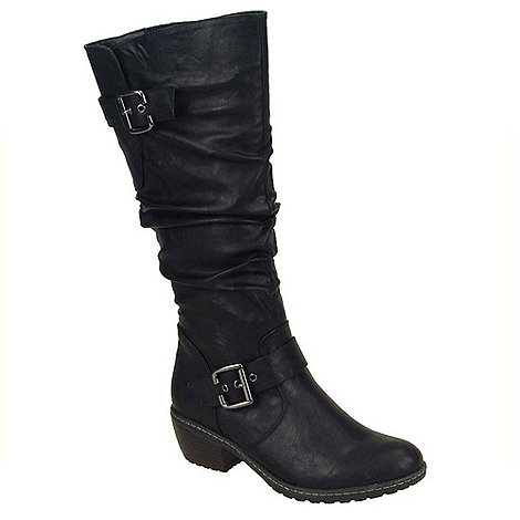 Rieker - Black +Bernadette+ long boots