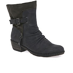 Rieker - Grey 'Berry' tall ankle boots