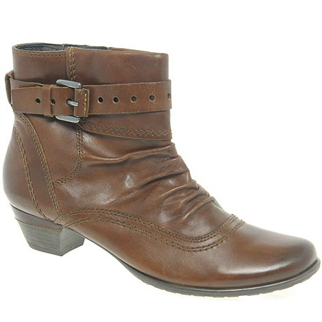 Marco Tozzi - Brown +Pixel Ii+ Womens Ankle Boots