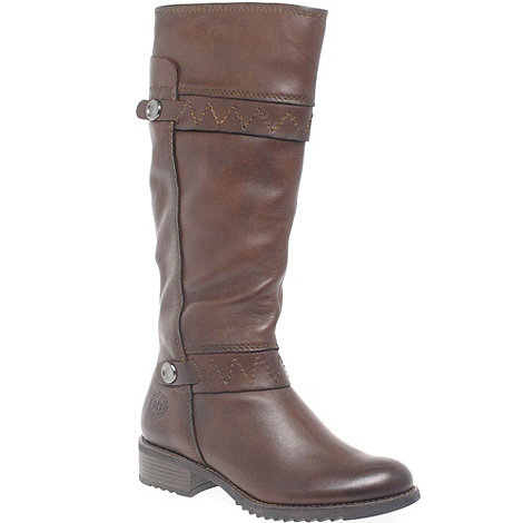Marco Tozzi - Brown +Frankie+ Leather Long Boots