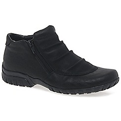 Rieker - Black 'Birthe' Womens Casual Ankle Boots