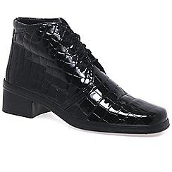 Gabor - Black patent 'Elaine' Ankle Boots