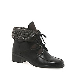 Gabor - Brown Rayce Leather Ankle Boot
