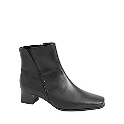 Gabor - Black 'Bassanio' womens ankle boots
