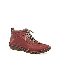 Josef Seibel - Red 'Nikki' Leather Boot