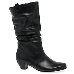 Gabor - Black 'Rachel' wide fit mid calf boot 36.681
