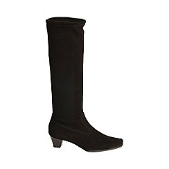 Peter Kaiser - Black 'Aila' Suede Long Boots