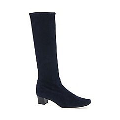 Peter Kaiser - Navy 'Aila' suede long boots