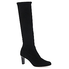 Peter Kaiser - Black 'Levke' Suede Long Boot 90.237