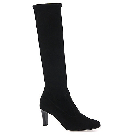 Peter Kaiser - Black +Levke+ Suede Long Boot 90.237