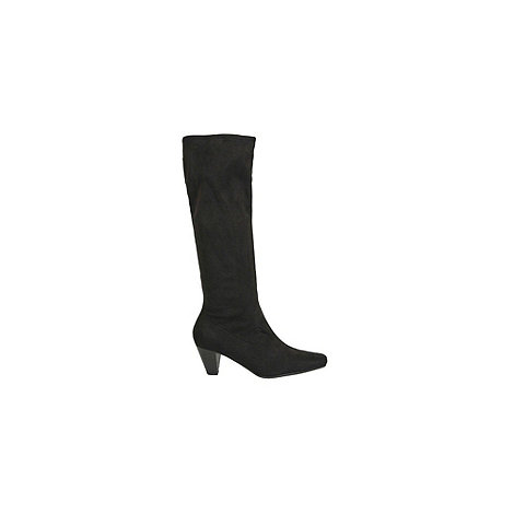 Marco Tozzi - Black +Denni Ii+ Ladies Pull On Stretch Tall Boots